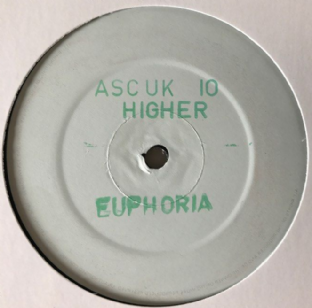 "Euphoria - Take Me Higher (12"") (Promo) (VG-/NM)"